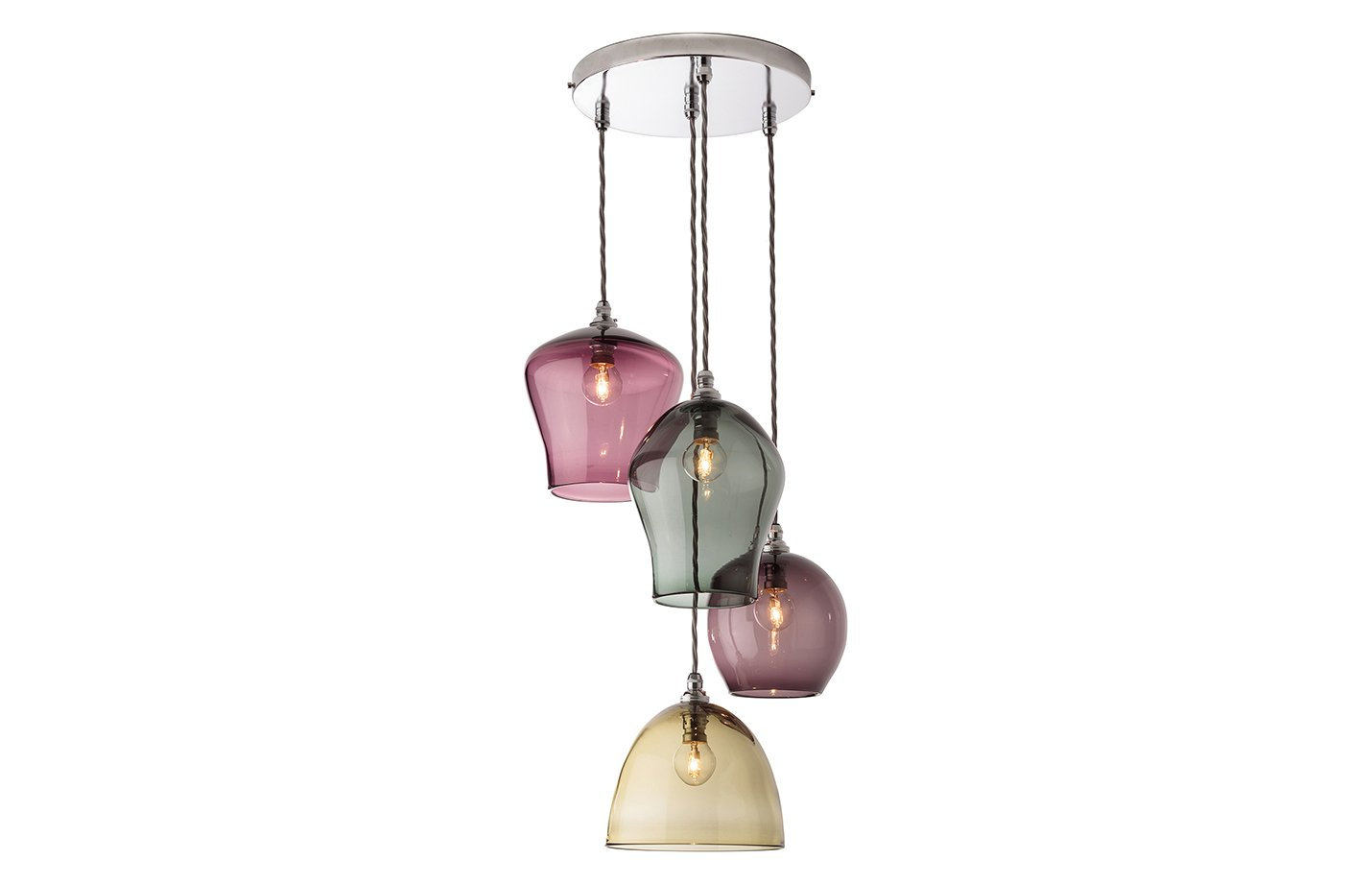 4 Drop Pendant Chandelier Light