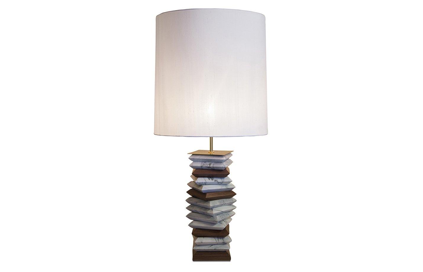 Apache table lamp – White