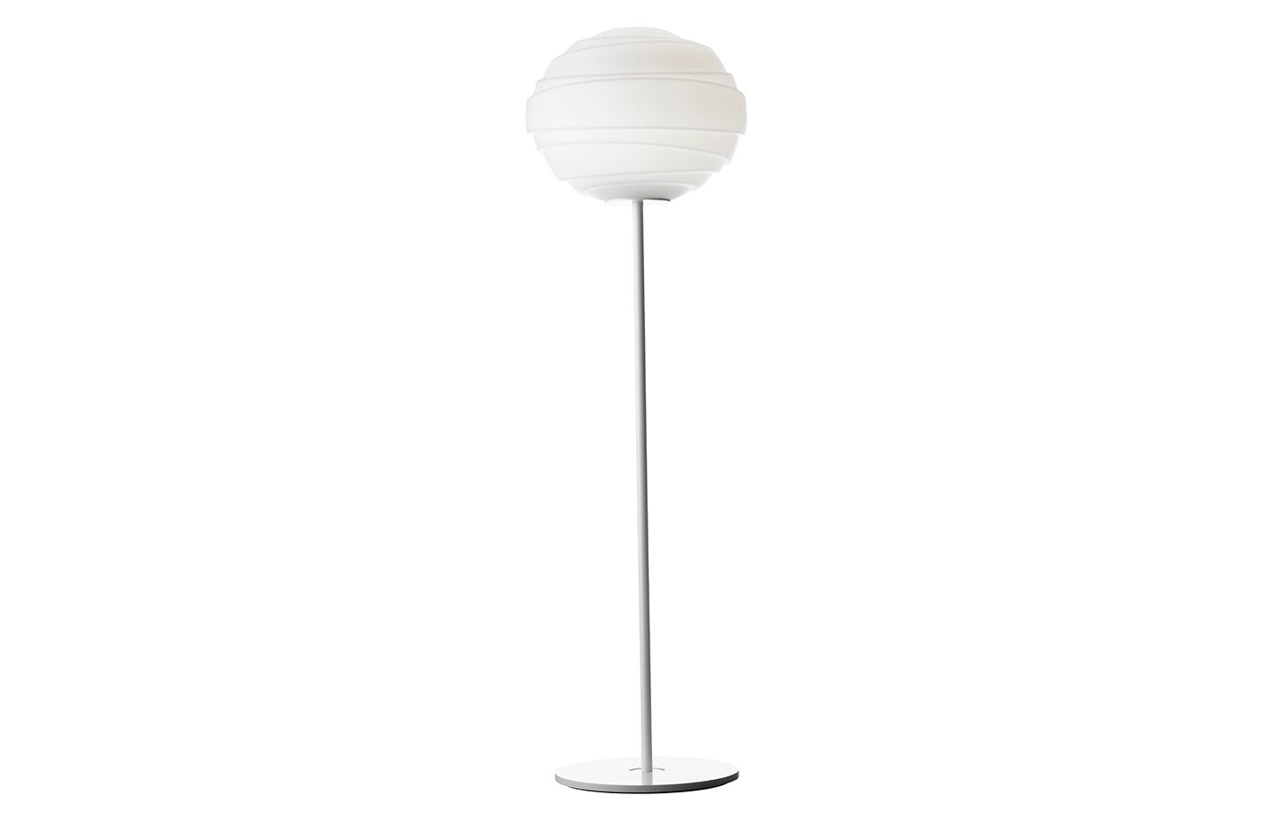 Atomheart floor lamp opal – white
