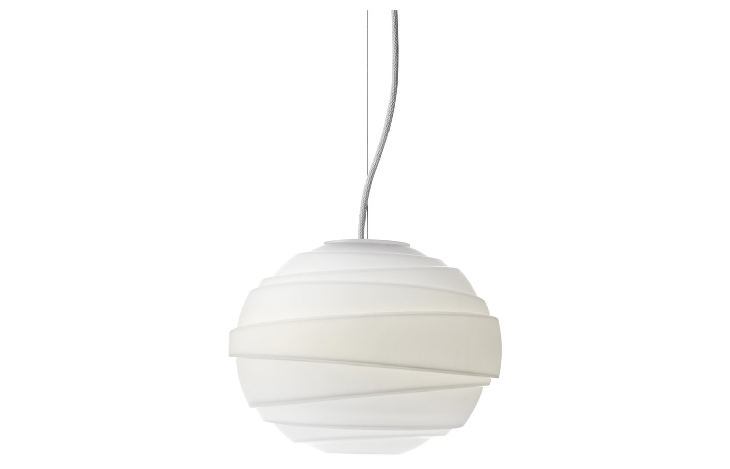 Atomheart pendant light small opal glass white