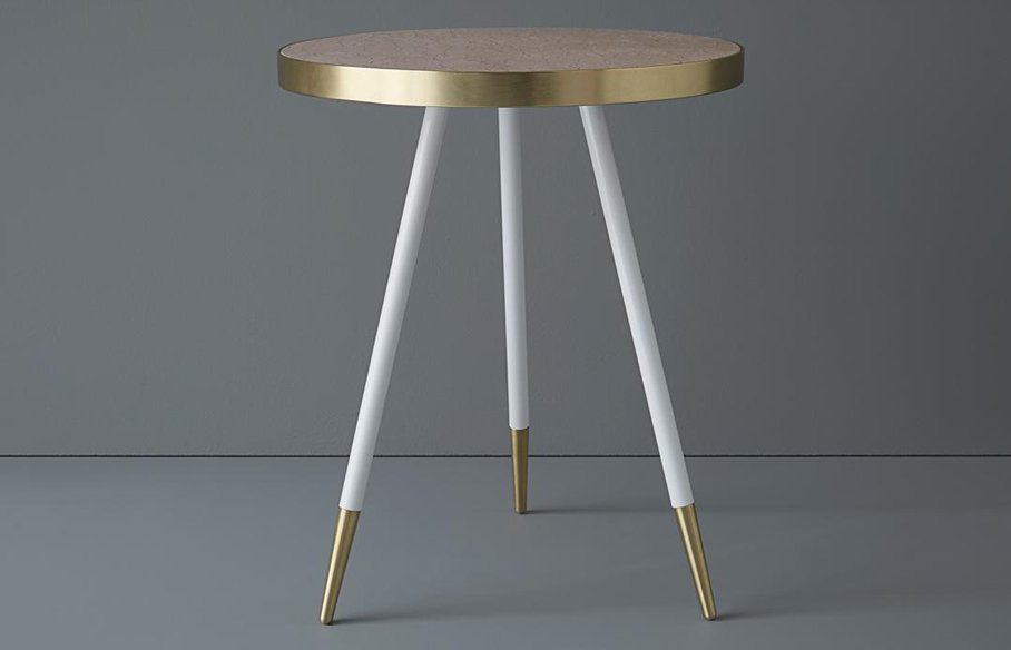 Band Single Tone Side Table