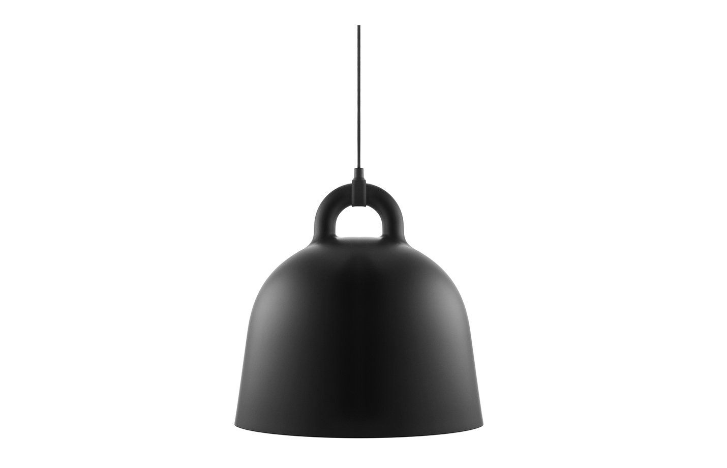 Bell Lamp Pendant Light – Black