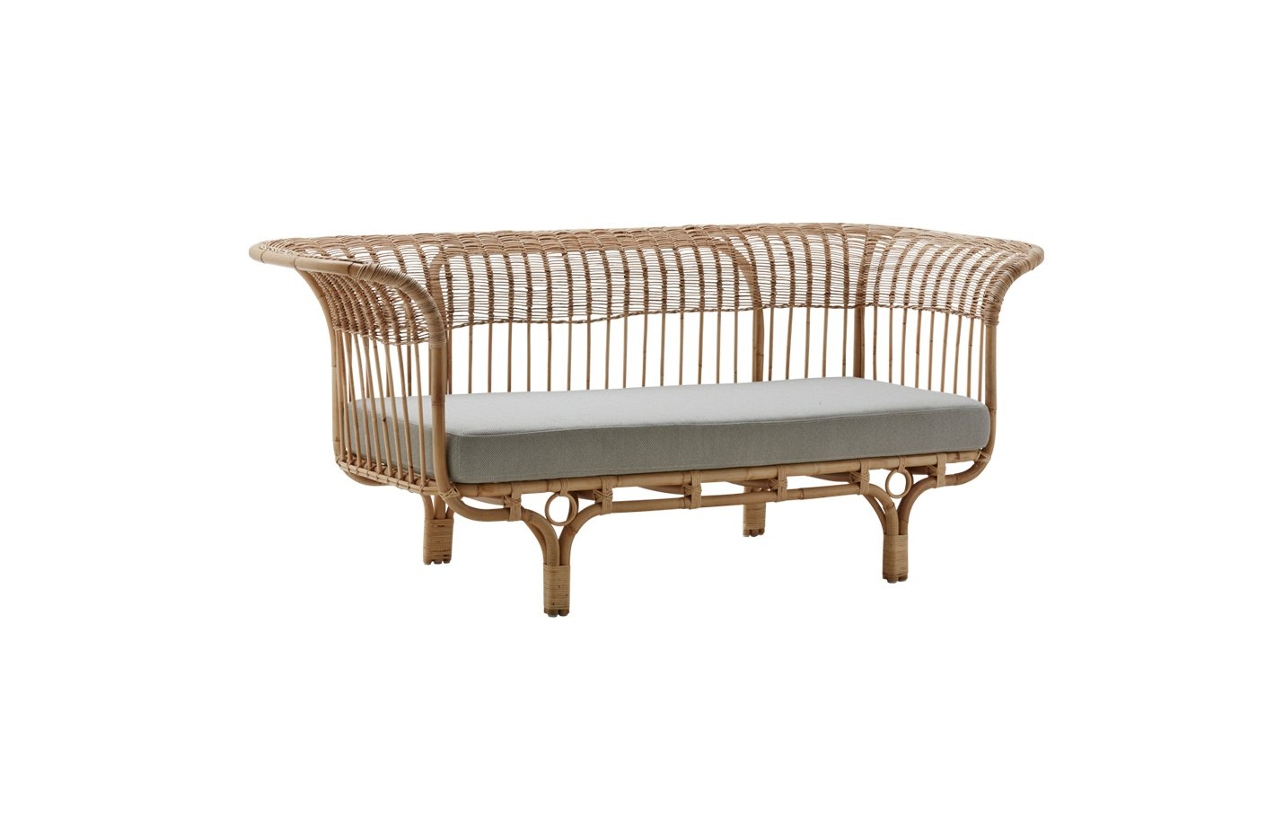 Belladonna sofa – Rattan – natural