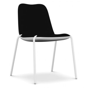 Boum lounge chair - black