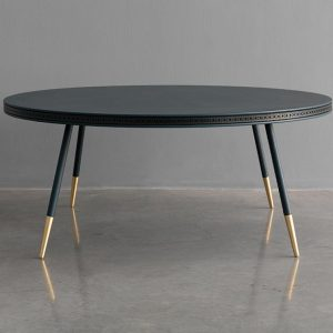 Brogue Coffee Table - Leather