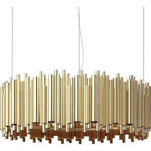 Brubeck chandelier light - Gold
