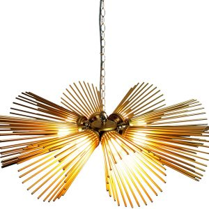 Carina chandelier light - Gold