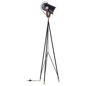Carronade floor lamp - black - sand