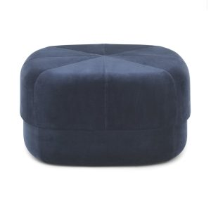 Circus pouf - large - dark blue