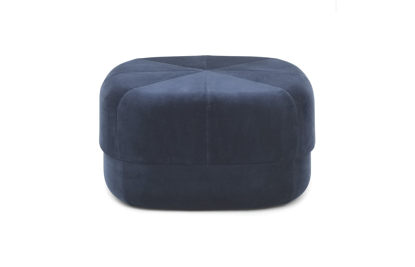 Circus pouf – large – dark blue