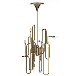 Clark pendant lamp - Brass - Gold