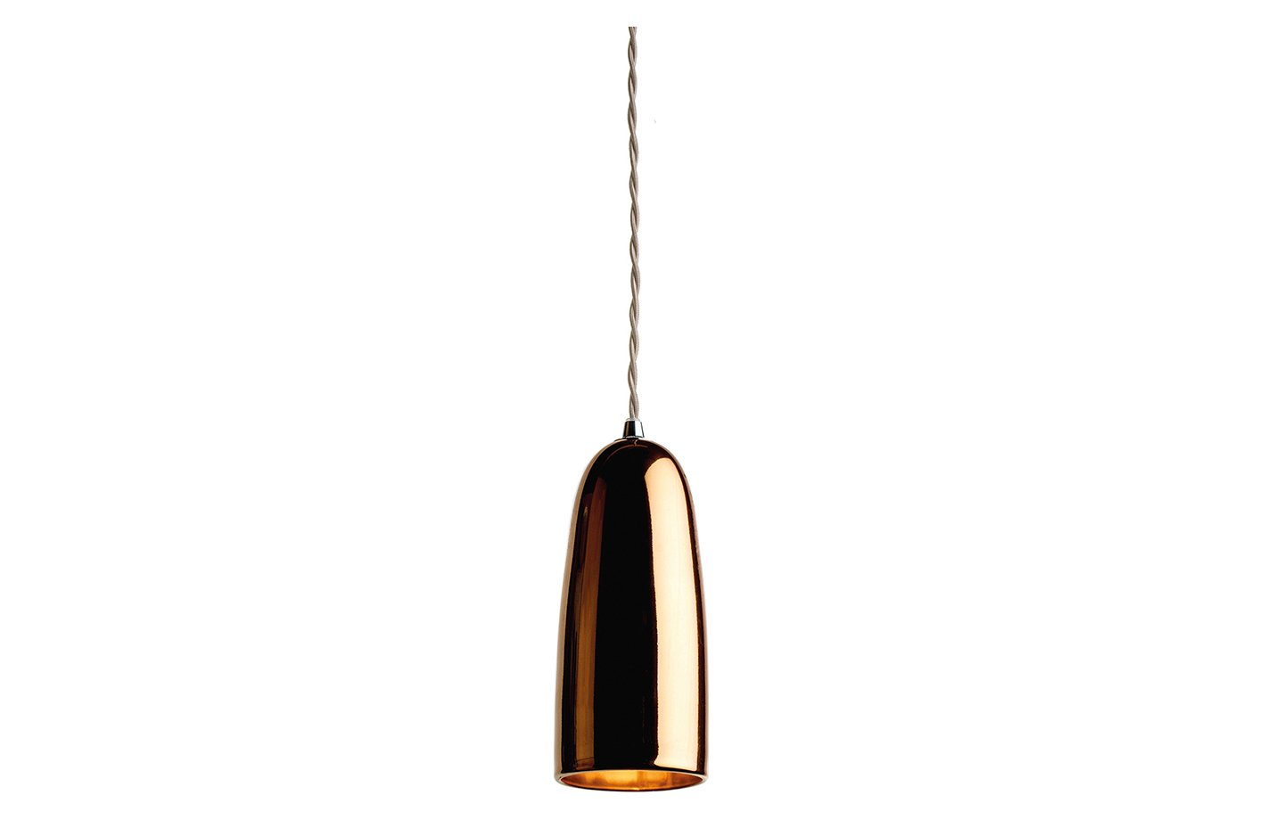 Cloak and dagger pendant lamp – Copper