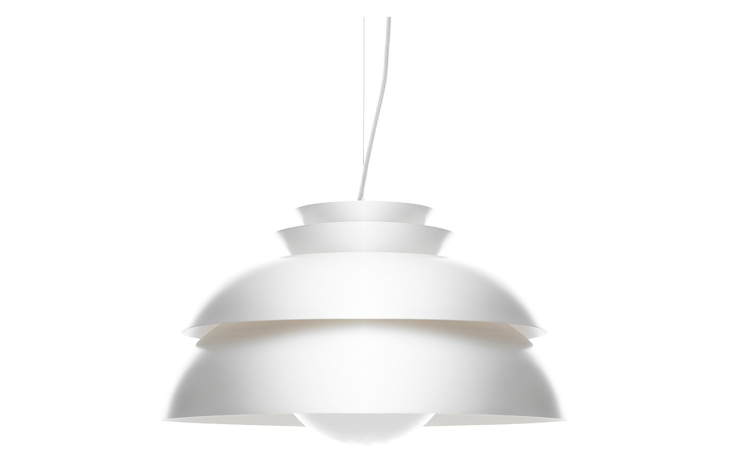 Concert pendant light white