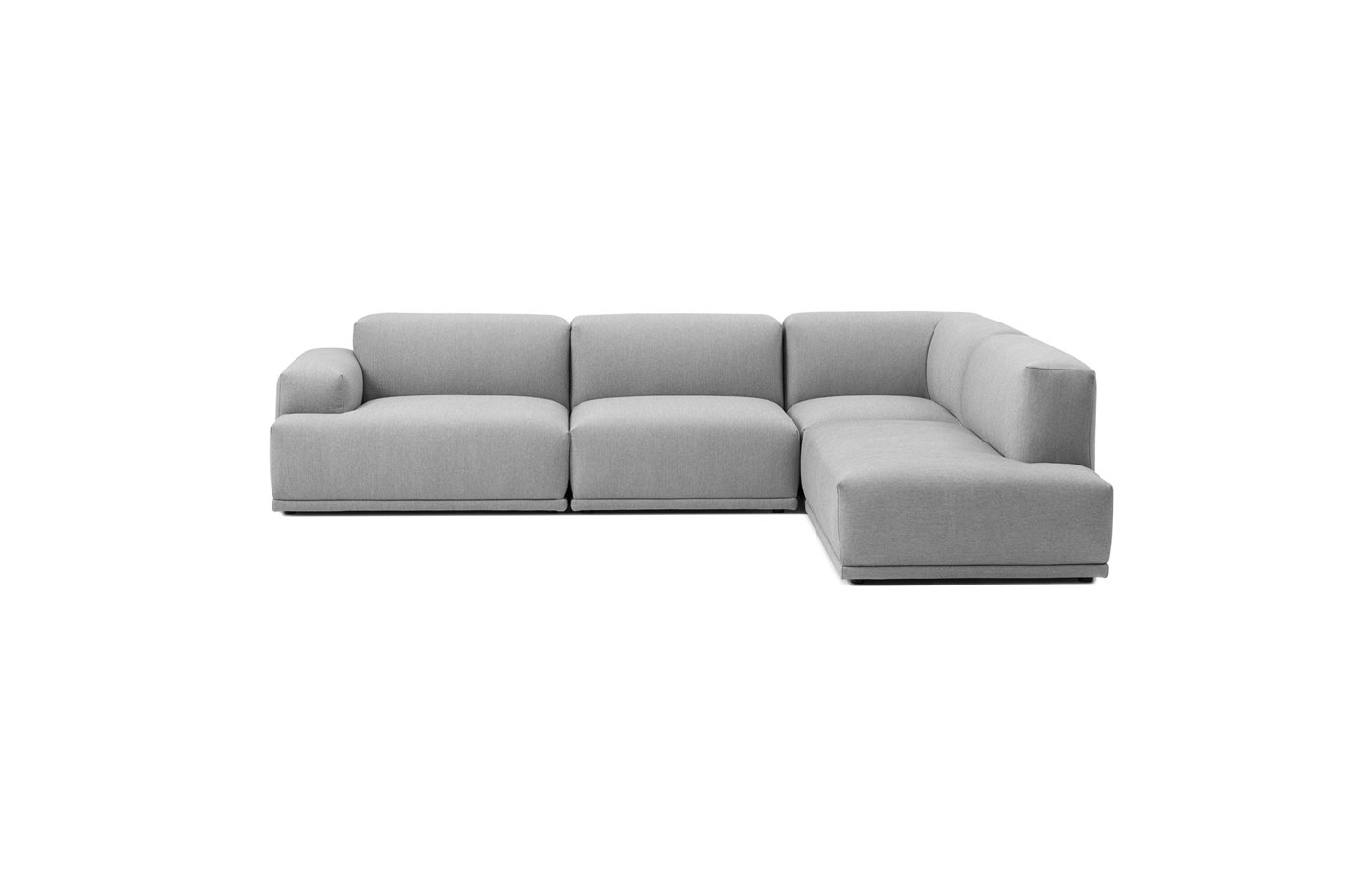 Connect sofa three seater – lounge – light grey