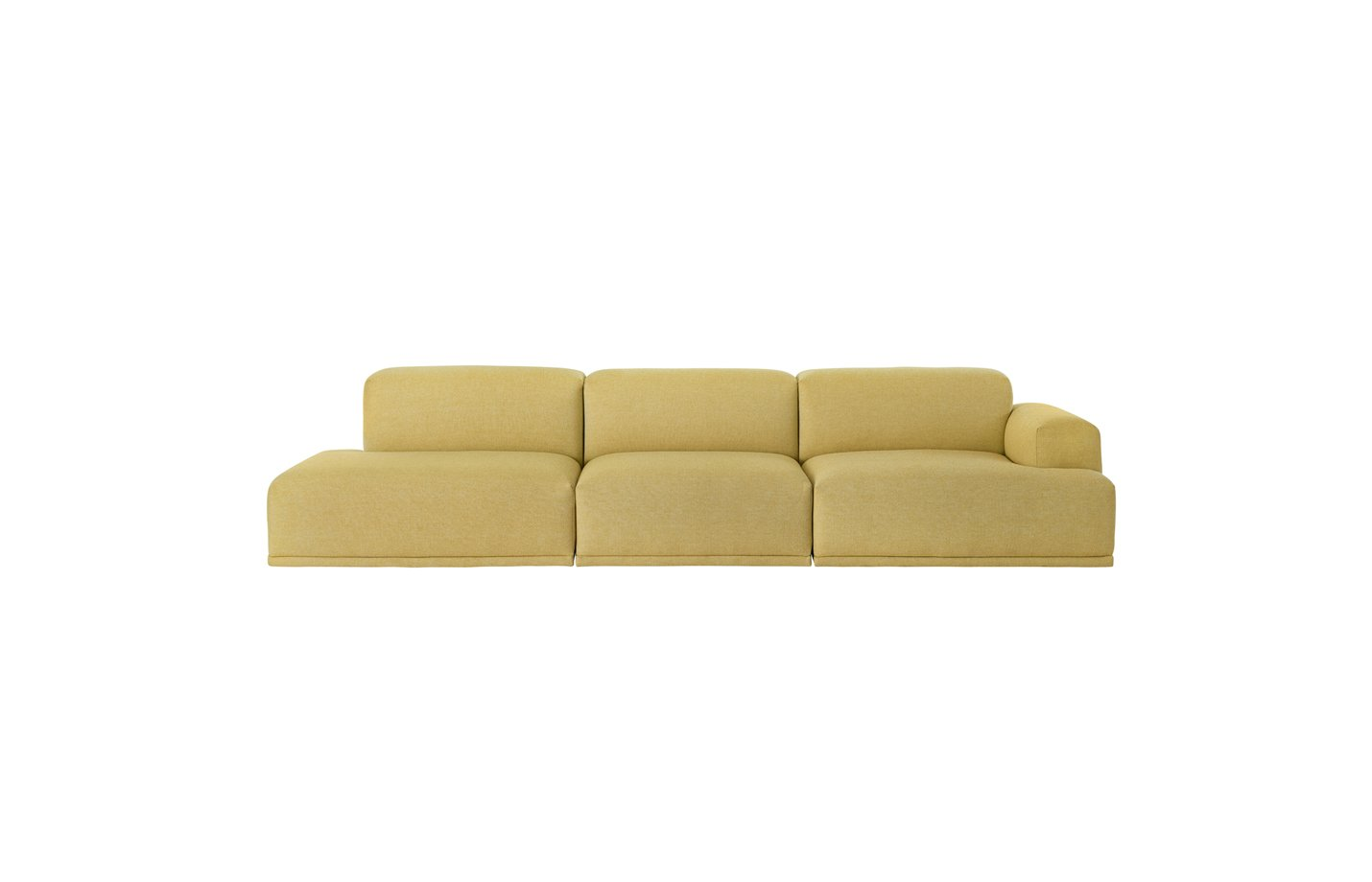 Connect-sofa-three-seater-lounge-yellow