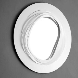Coronet Mirror - White