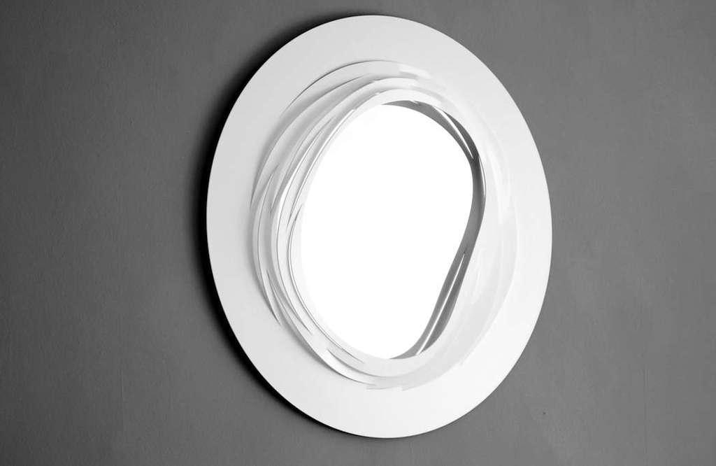 Coronet Mirror – White
