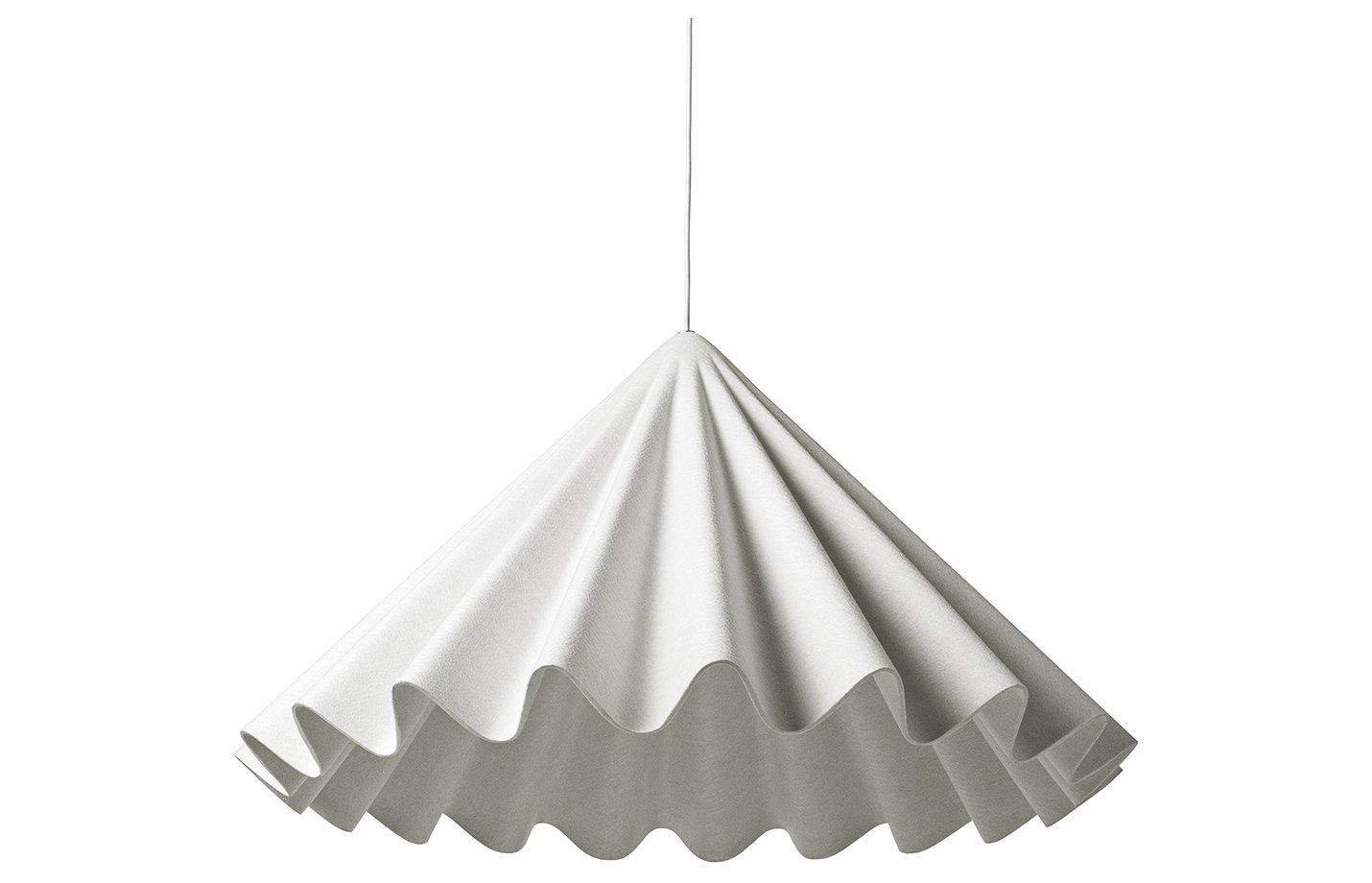 Dancing pendant lamp off – white