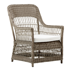 Dawn chair - cushion - Rattan - antique