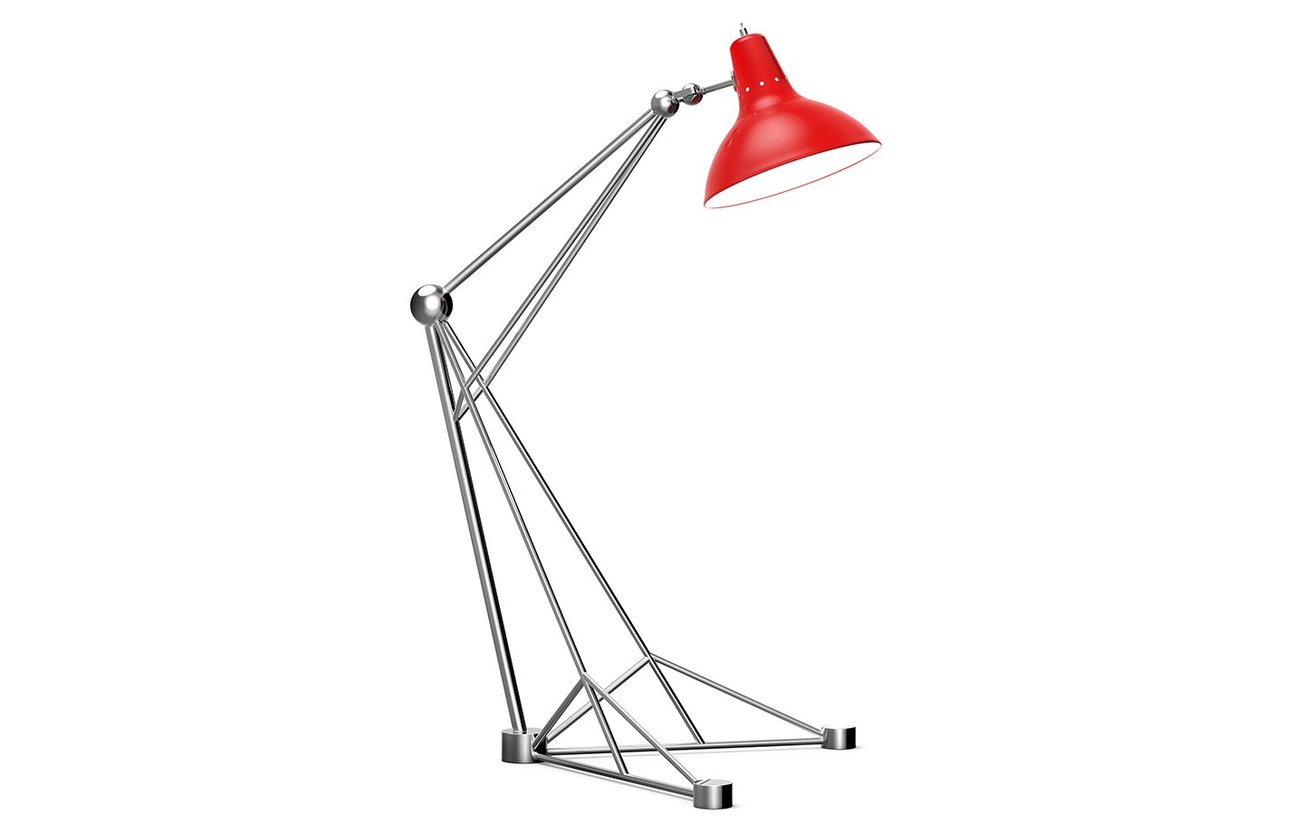 Diana floor lamp – red