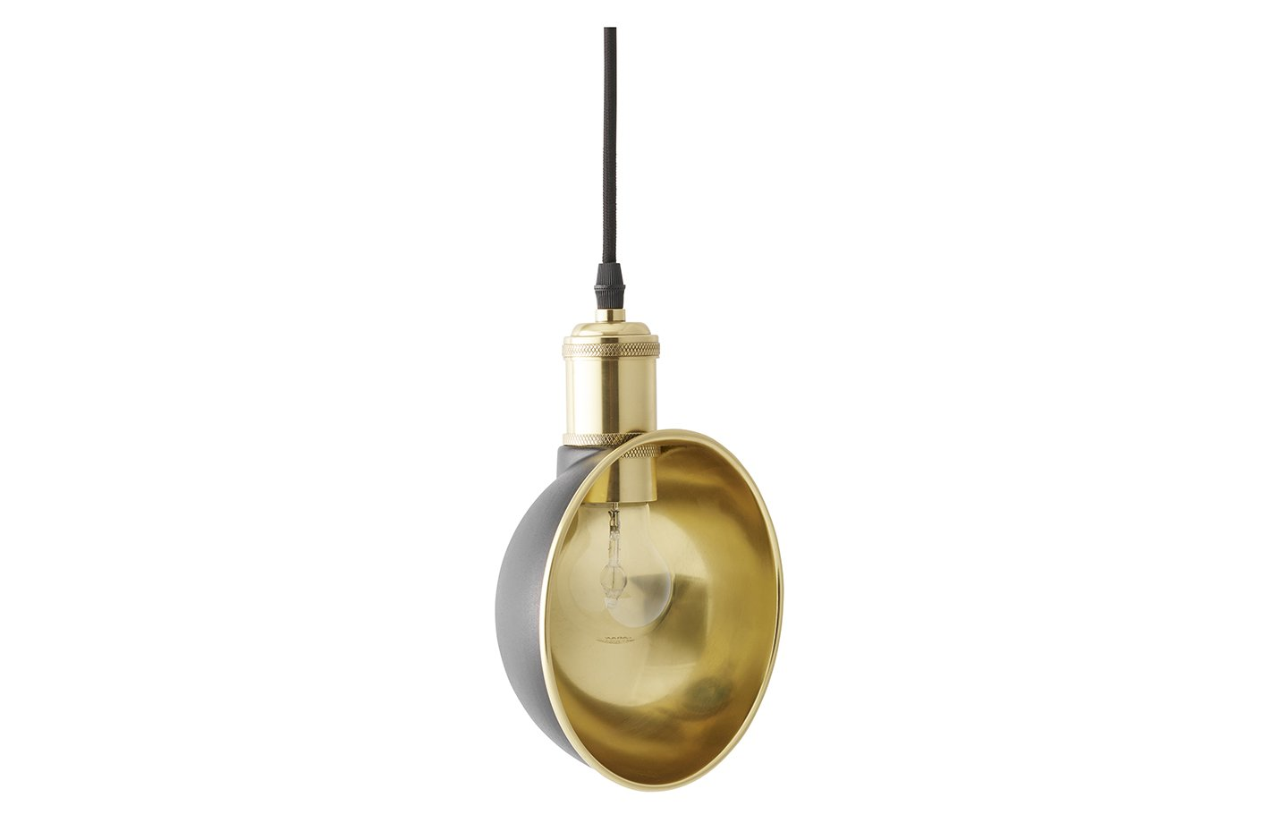Duane pendant lamp – brass – gold