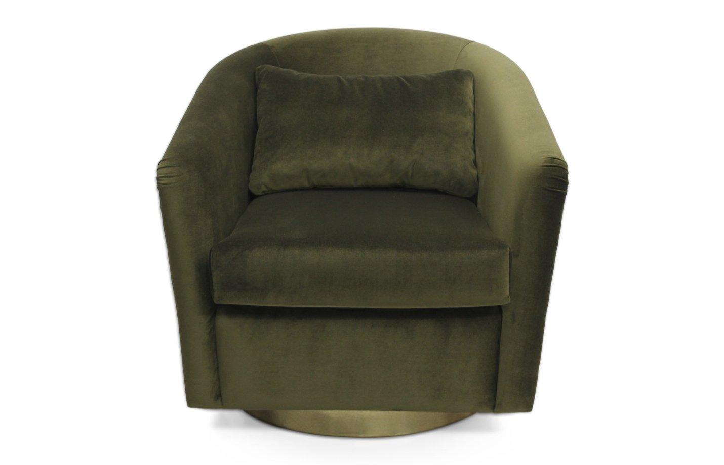 Earth armchair – velvet – Green