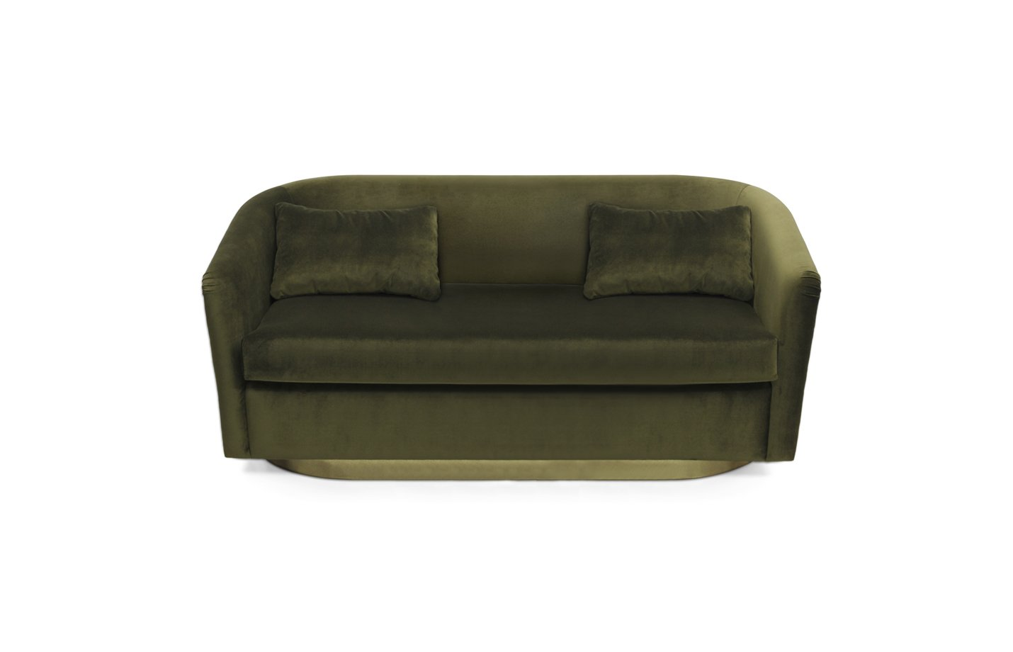 Earth sofa two seater – green