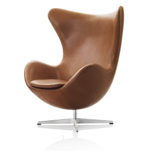 Egg lounge chair - tan