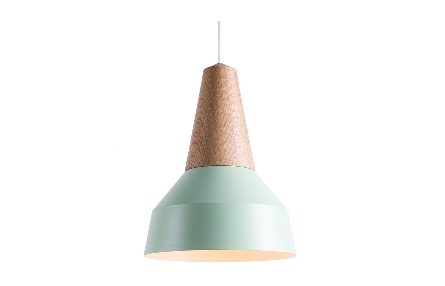 Eikon basic pendant lamp oak-mint