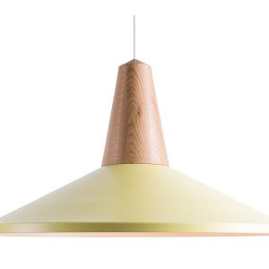 Eikon shell pendant lamp oak-yellow