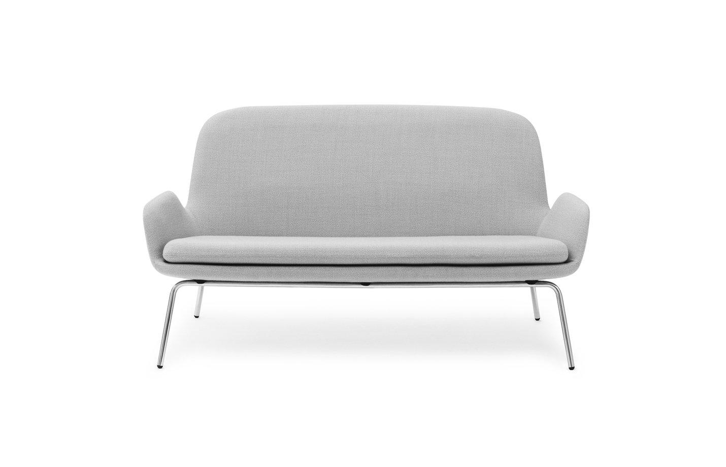 Era sofa – chrome – light grey