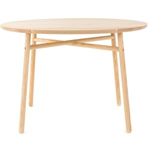 FAFA table - ashwood - round - natural