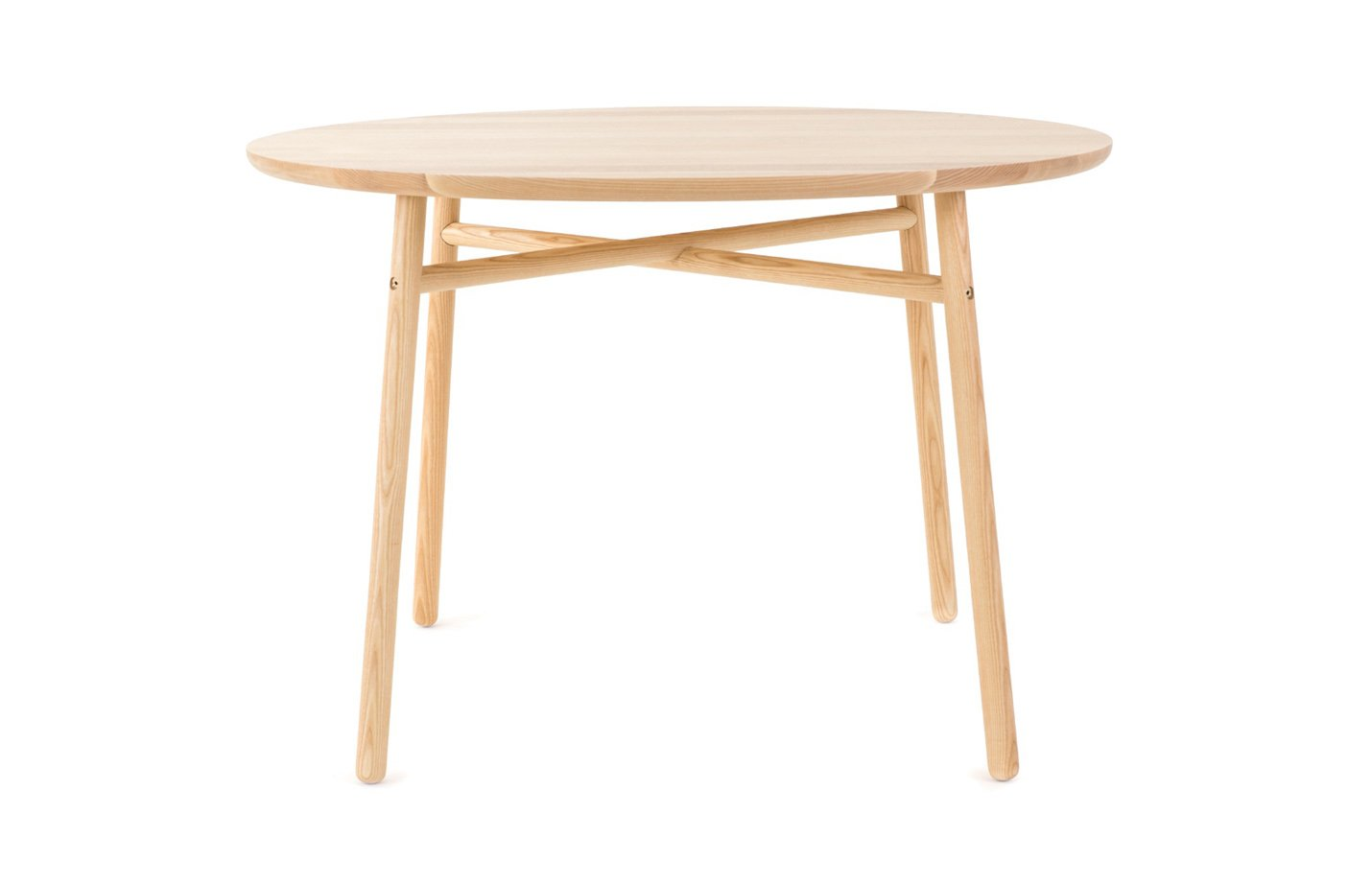 FAFA table – ashwood – round – natural