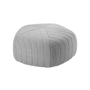 Five pouf - ottoman - light grey