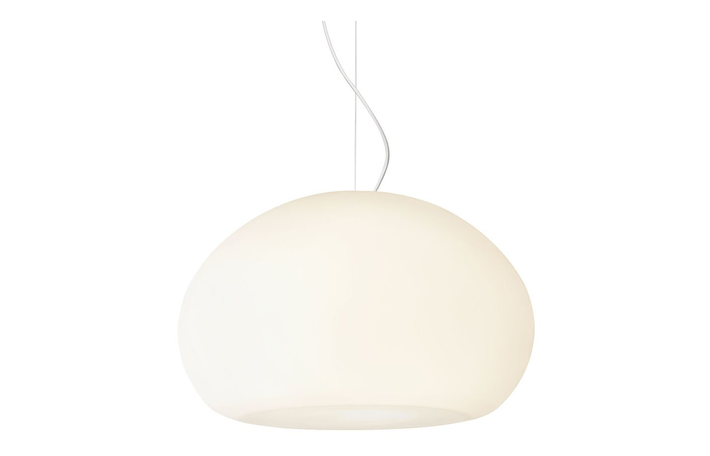 Fluid pendant light – White