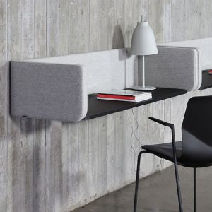 Four Us WallPod partition - white