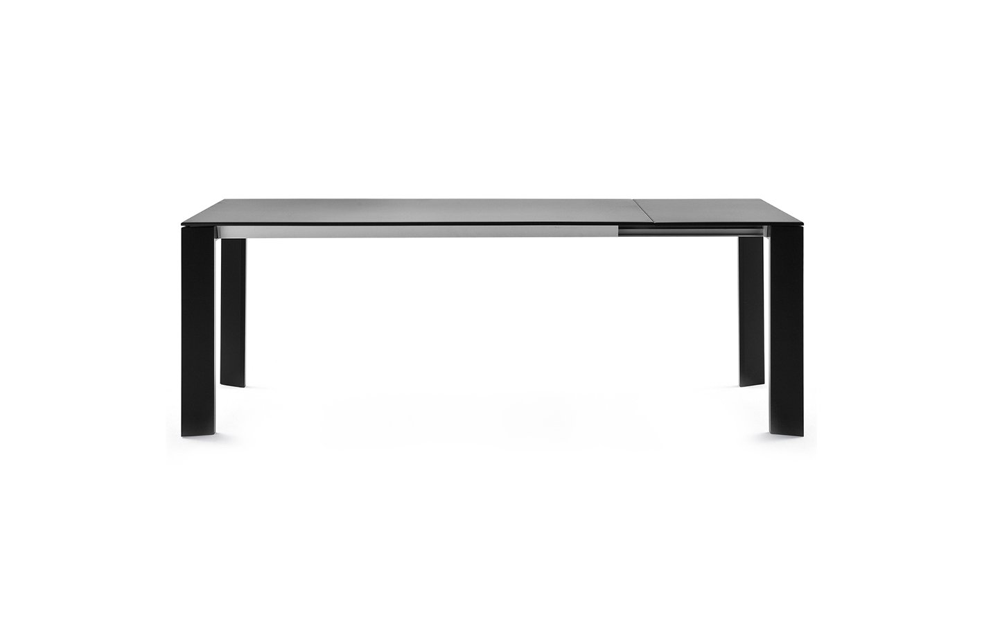 GRANDE ARCHE Rectangular Table – black