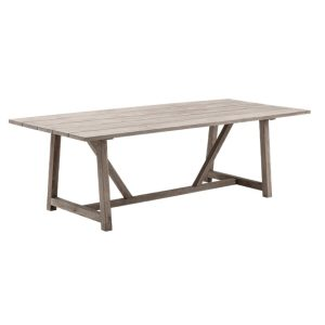 George table - teak - brown