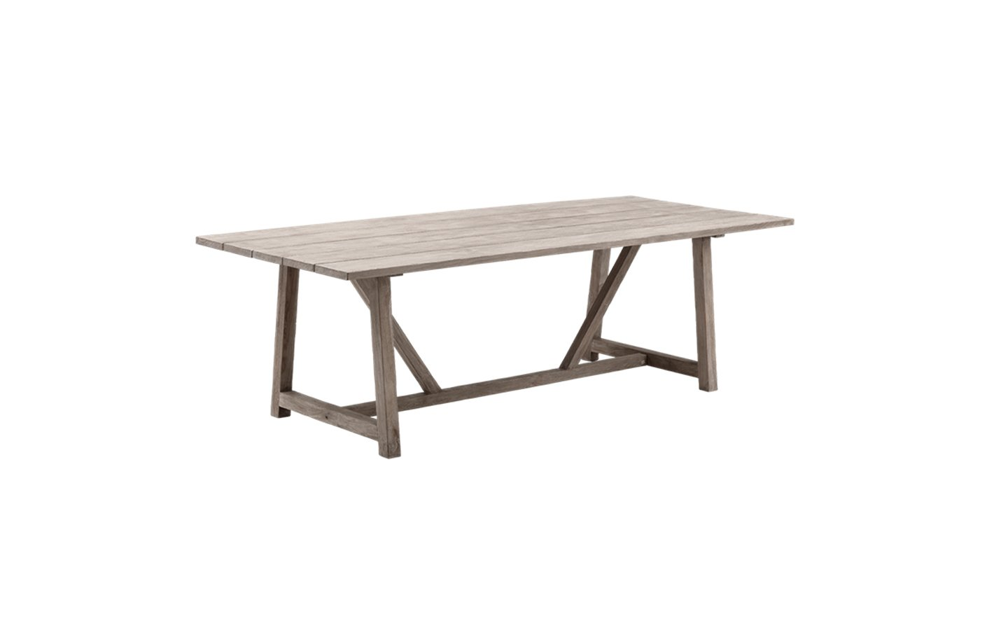 George table – teak – brown