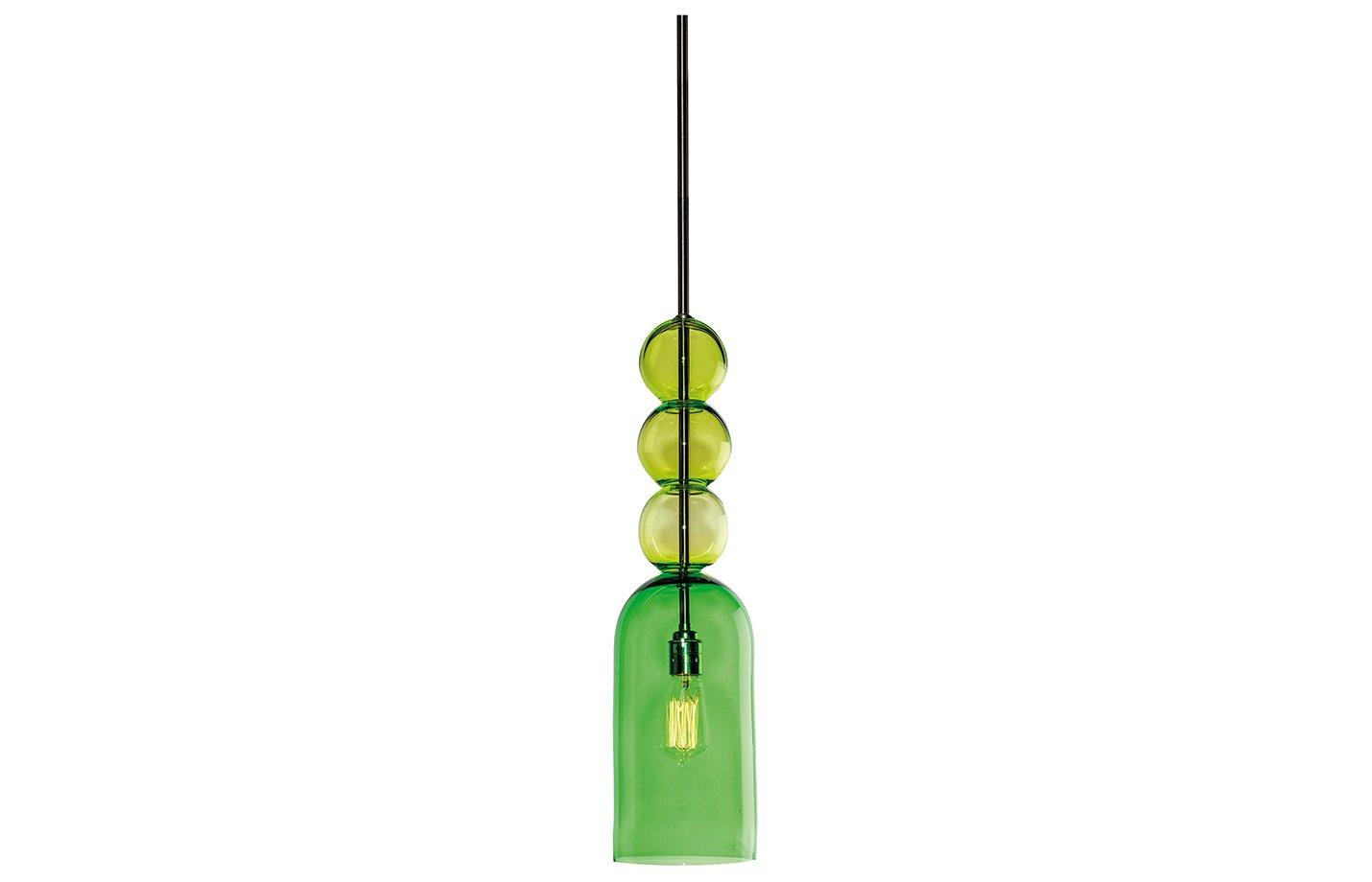 Gobstopper pendant lamp – Green