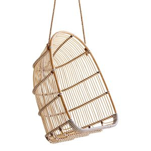 Holly Swing chair - rattan - Natural