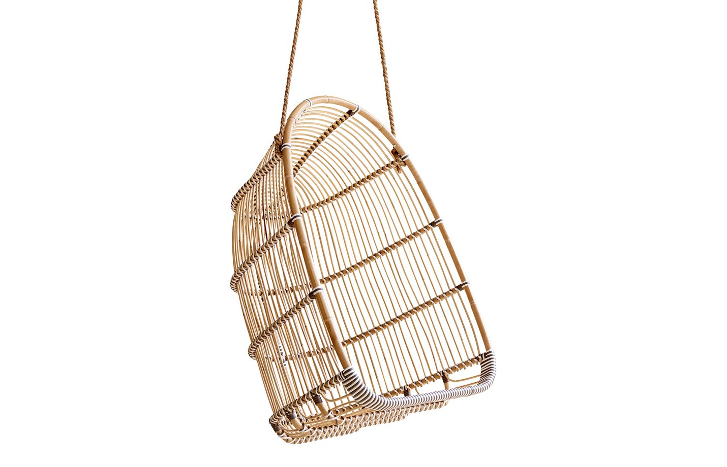 Holly Swing chair – rattan – Natural