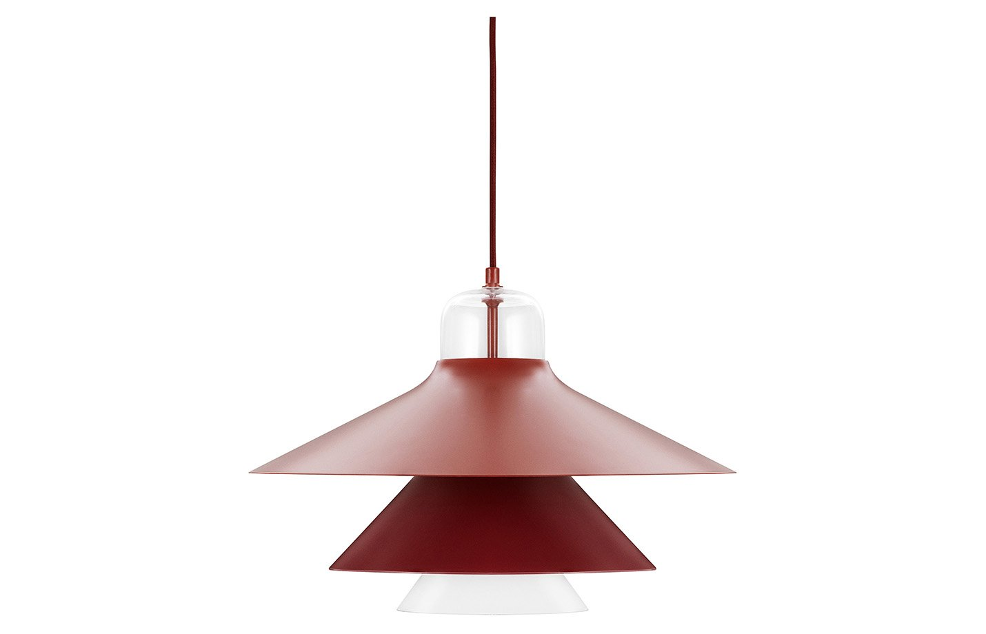 Ikono Lamp Pendant – Large – Red