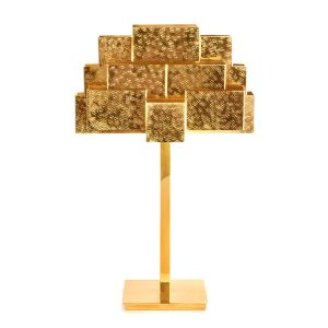 Inspiring trees table lamp - Brass-gold