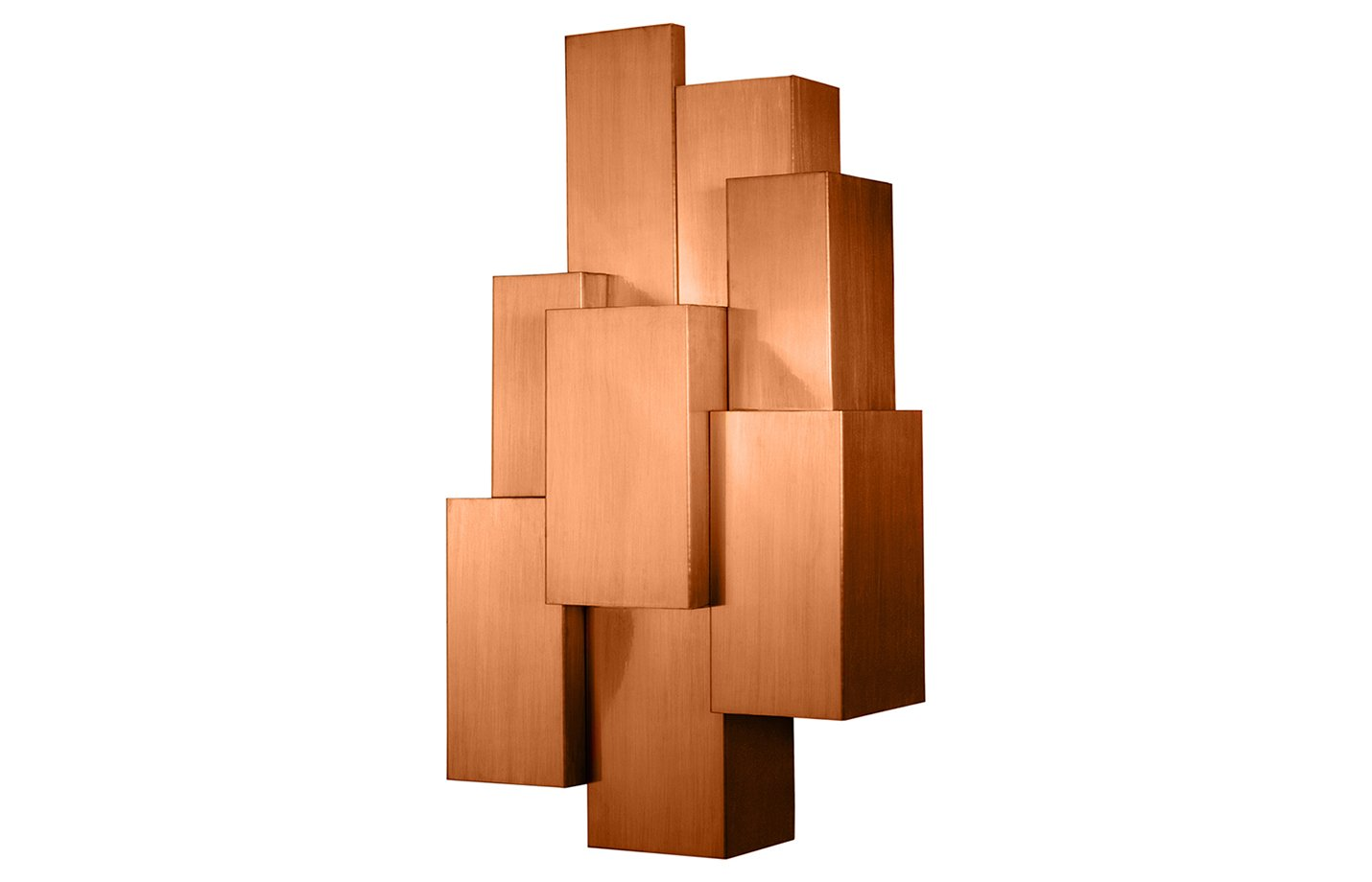 Inspiring trees wall light – Copper