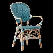 Isabell-chair-armrest-Rattan-Azur