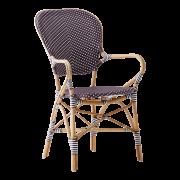 Isabell-chair-armrest-Rattan-plum