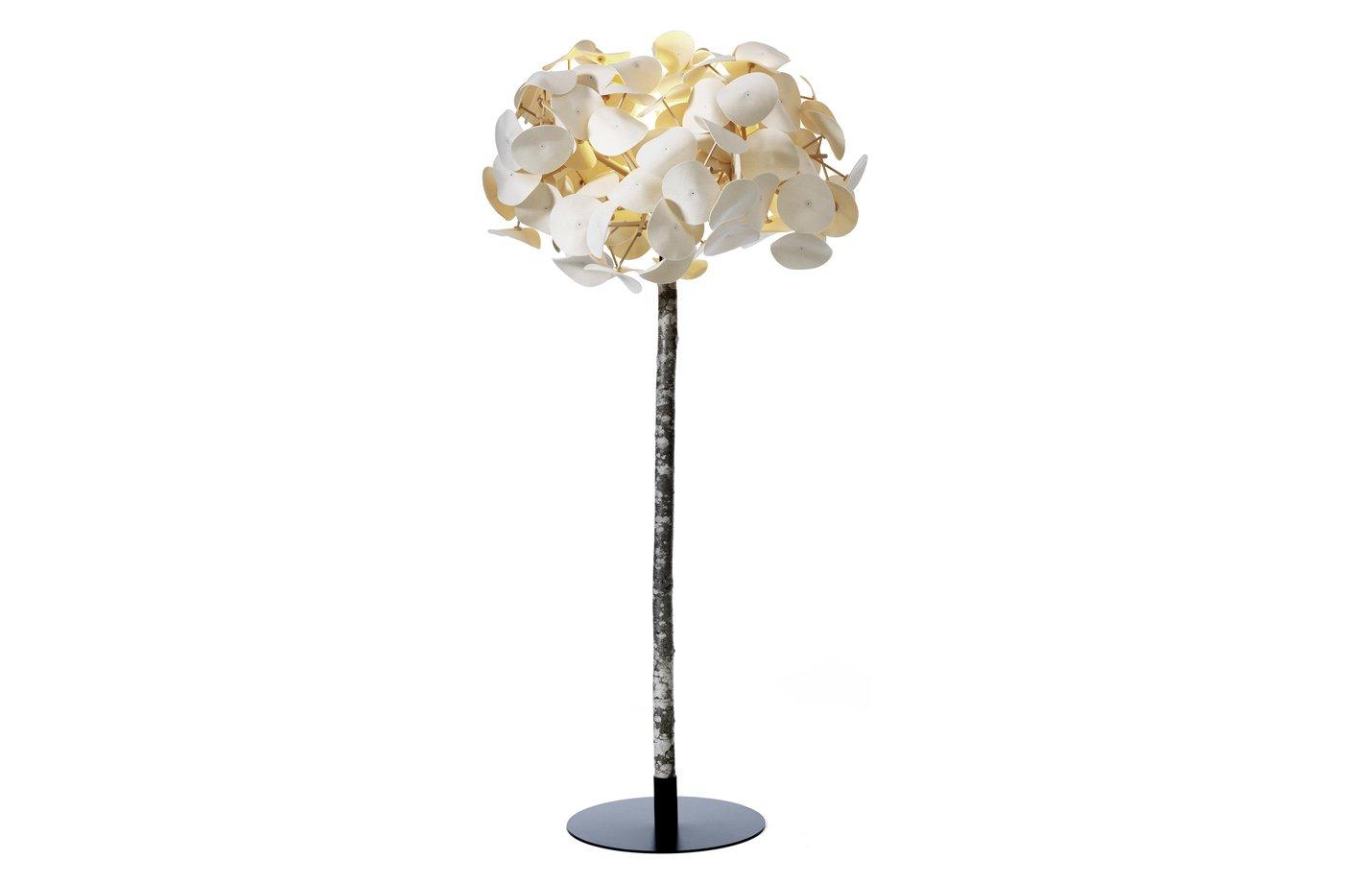 Leaf tree floor lamp fabiia dubai uae for Floor lamp dubai