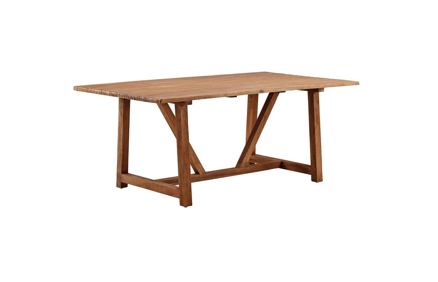 Lucas table – teak – brown
