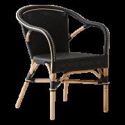 Madeleine-chair-armrest-Rattan-black-black